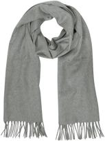 Lanvin Solid Pure Cashmere Men's Long Scarf