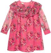 Gucci Children's floral print silk dress