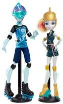 "Monster High Lagoona Blue & Gillington ""Gil"" Webber Wheel Love Doll 2-Pack"