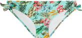 JETS by Jessika Allen Plantation printed bikini briefs