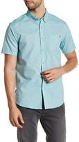 Billabong All Day Chambray Short Sleeve Tailored Fit Shirt