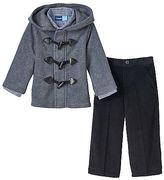 Toddler Boy Great Guy Fleece Toggle Jacket, Shirt & Pants Set