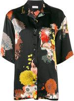 Dries Van Noten Cruz floral print pyjama top