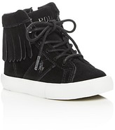 Ralph Lauren Girls' Winona Fringe High Top Sneakers - Walker