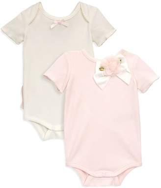 Miniclasix Baby Girl's 2-Piece Classic Bodysuit Set