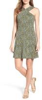 MICHAEL Michael Kors Petite Women's Quinn Floral A-Line Dress