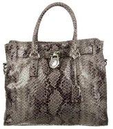MICHAEL Michael Kors Large Embossed Hamilton Bag