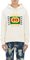 Gucci Men's Cotton Terry Hoodie-IVORY