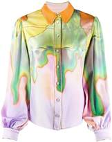 Peter Pilotto abstract-print blouse