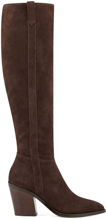 Nine West Trip 2 Samia Suede Tall Boots