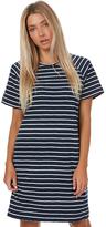 Swell Casta Stripe Dress Blue