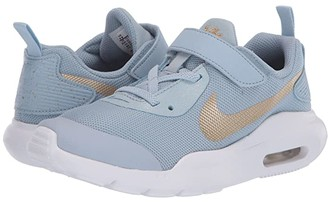 Nike Kids Air Max Oketo Valentine's Day (Infant/Toddler) (Light Armory Blue/Metallic Gold/Team Red) Kid's Shoes