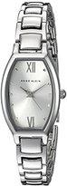 Anne Klein Women's AK/2039SVSV Silver-Tone Bracelet Watch