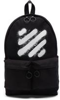 Off-White Diagonal Spray Backpack