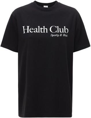 Sporty & Rich Health Club T-shirt