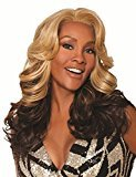 Finders Wigs 20Inch Women Wig Sexy Layered Ombre Brown Celebrity Wigs For African Americans Long Curly Wigs