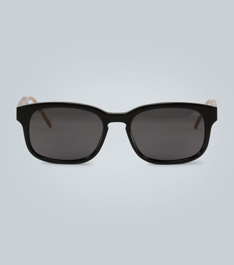Gucci Rectangular sunglasses with acetate