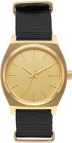 Nixon Time Teller Watch Gold