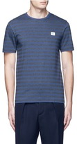Acne Studios 'Eddy Stripes' mélange jersey T-shirt