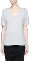 Vince Drop shoulder V-neck T-shirt