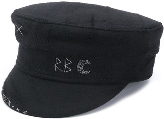 Ruslan Baginskiy Embroidered Baker Boy Hat