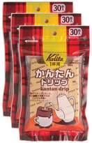 Carita Kalita Three pack 30 pieces Kalita simple drip (japan import)