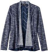 Girls Plus Size 2Hip Lace Back Knit Cardigan