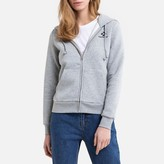 Converse Zip-Up Hoodie with Embroidered Star Chevron in Cotton Mix