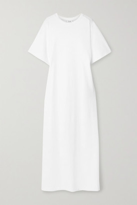 The Row Aprile Cotton-jersey Maxi Dress - Ivory