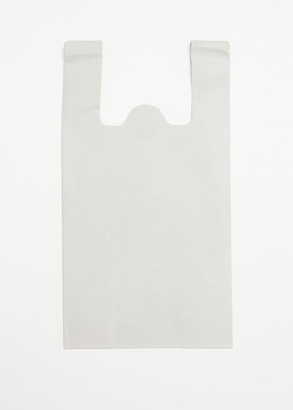 Loom Medium Fake Plastic Bag in White