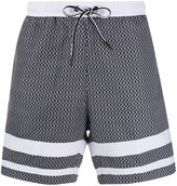 Boss Hugo Boss drawstring beach shorts
