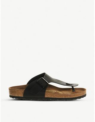 Birkenstock Ramses faux-leather flip-flops