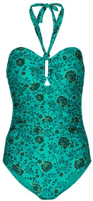 Zimmermann Lulu floral swimsuit