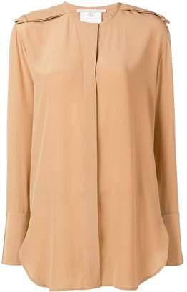 Stella McCartney long-line blouse