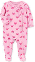 Carter's Little Planet Organics Butterfly-Print Cotton Coverall, Baby Girls