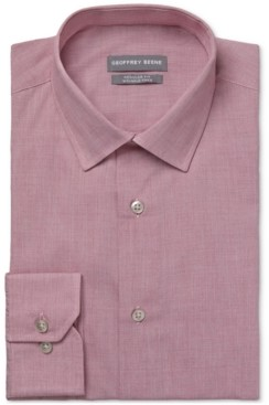 Geoffrey Beene Men's Classic/Regular-Fit Non-Iron Performance Stretch Dress Shirt