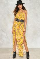 Nasty Gal nastygal House of the Rising Sun Maxi Dress