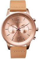 Triwa Nevil Men's Chronograph Watch Tan Leather Strap NEST105 CL011714