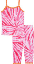 Esme Tie-Dyed Cotton-Blend Pajama Set