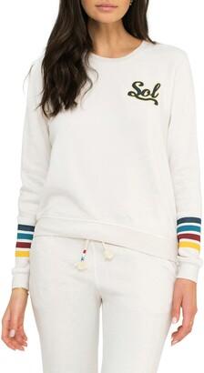 Sol Angeles Varsity Crewneck Sweatshirt