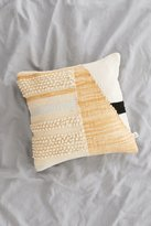 Urban Outfitters Colorblock Woven Loop Pillow