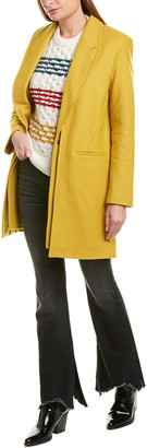 Rag & Bone Kaye Wool-Blend Coat