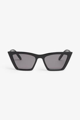 Monki Square cat-eye sunglasses