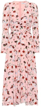 Erdem Exclusive to Mytheresa Annalee floral silk midi dress