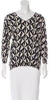 Etoile Isabel Marant Geometric Pattern V-Neck Sweater