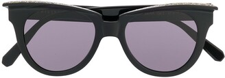 Philipp Plein Crystal Embellished Sunglasses