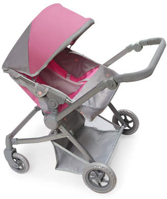 Badger Basket Voyage Twin Carriage Doll Stroller