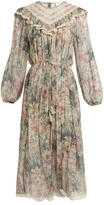 Zimmermann Cavalier floral-print silk-chiffon dress