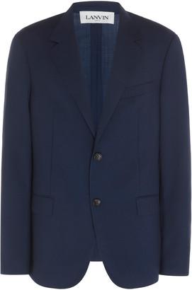 Lanvin Tailored Wool Blazer
