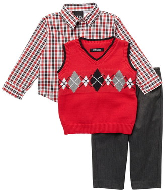 Nautica Argyle Sweater Vest Set